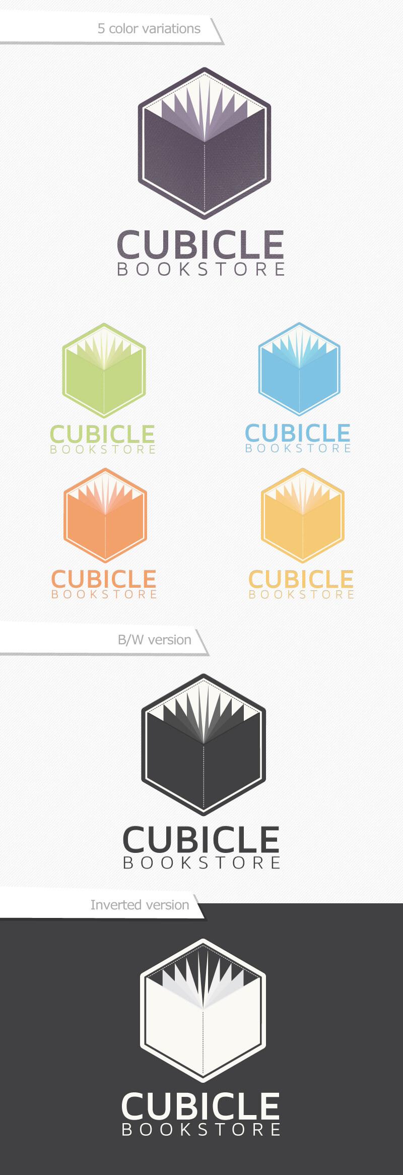 Cubicle Bookstore logo
