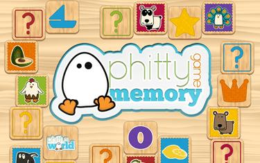 Phitty memory game